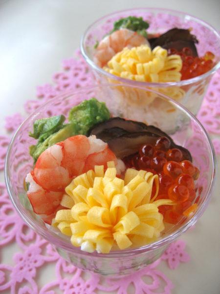 カップちらし寿司