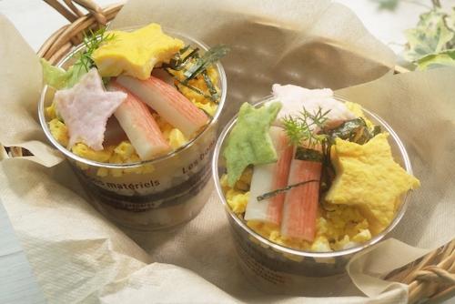 カップ寿司(七夕)