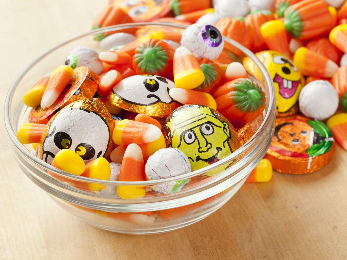 ハロウィン用のお菓子の詰め合わせ