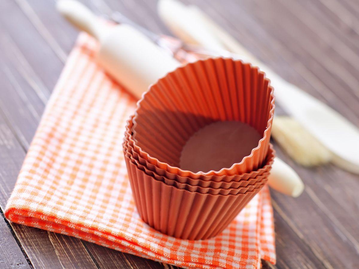 シリコン製のマフィンカップ