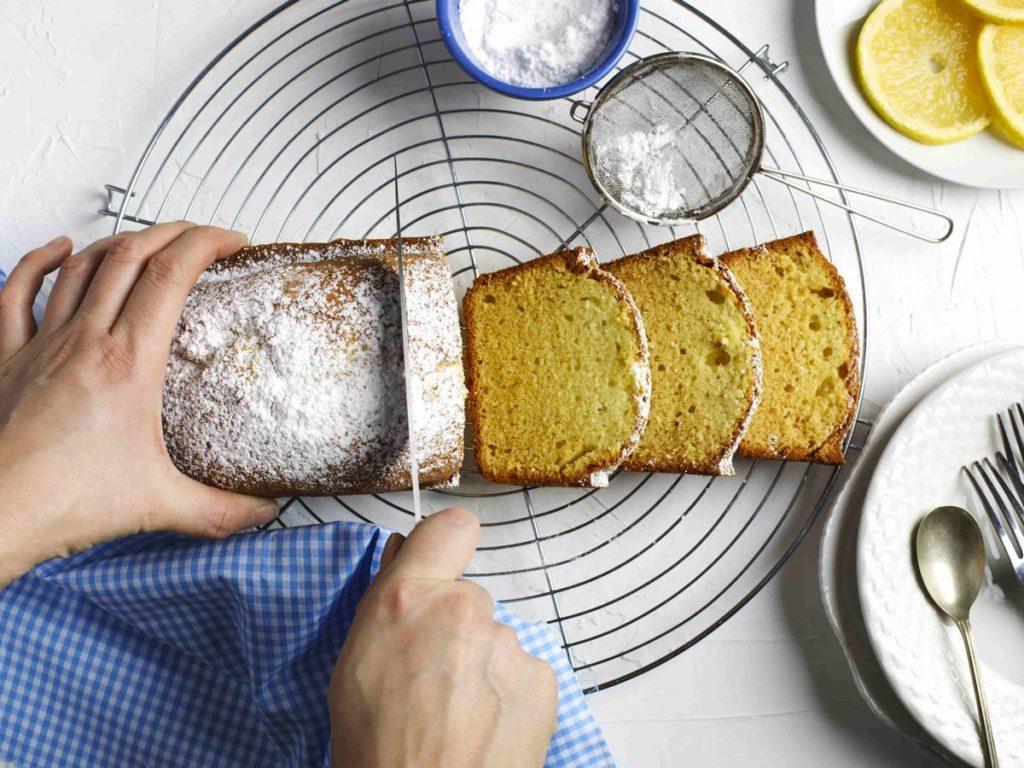小分けにしたパウンドケーキ