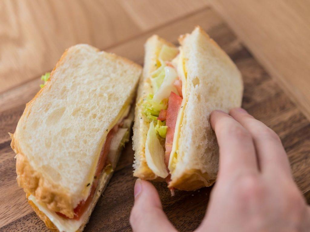 花見用のサンドイッチ