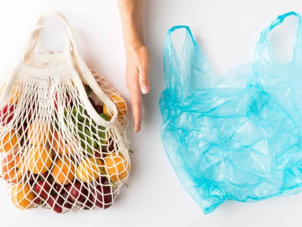 マイバッグとレジ袋